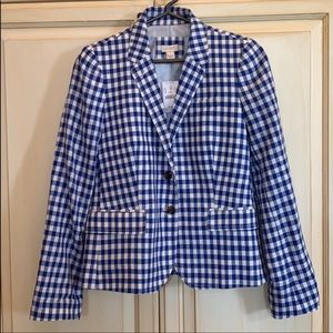 NWT! J crew linen/cotton blazer